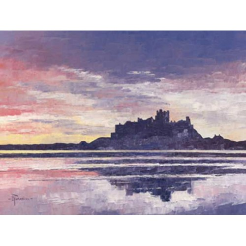 Red Sky Over Bamburgh