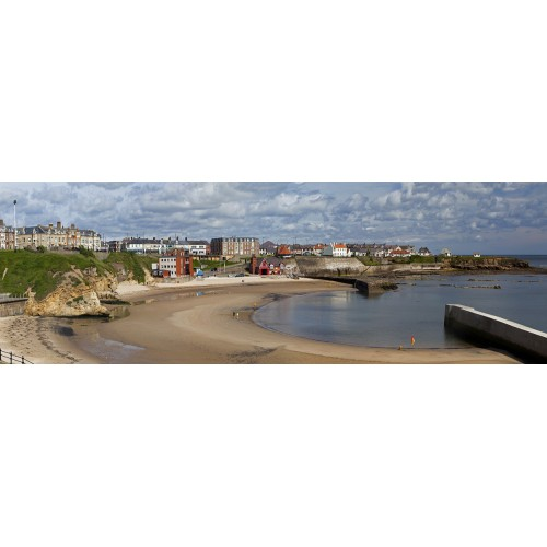 Cullercoats Bay - panorama