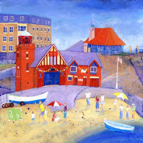 Cullercoats - Harbour Day